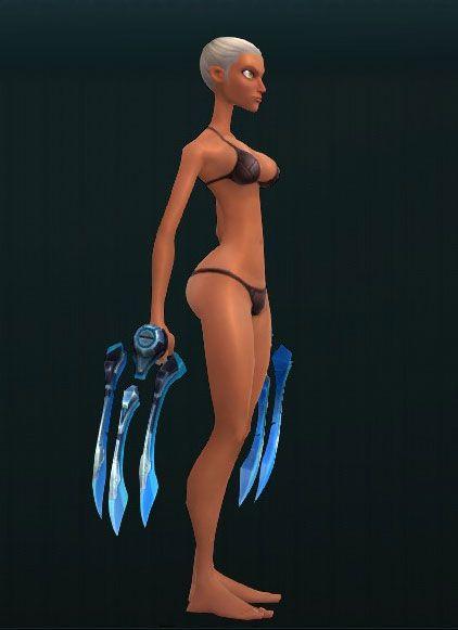 Kappa's Augmented Talons 2996