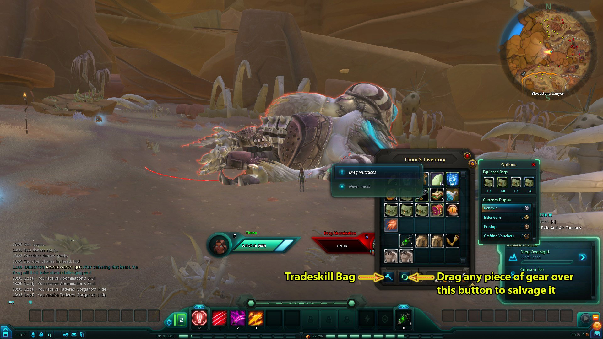 Salvage Tradeskill Bag