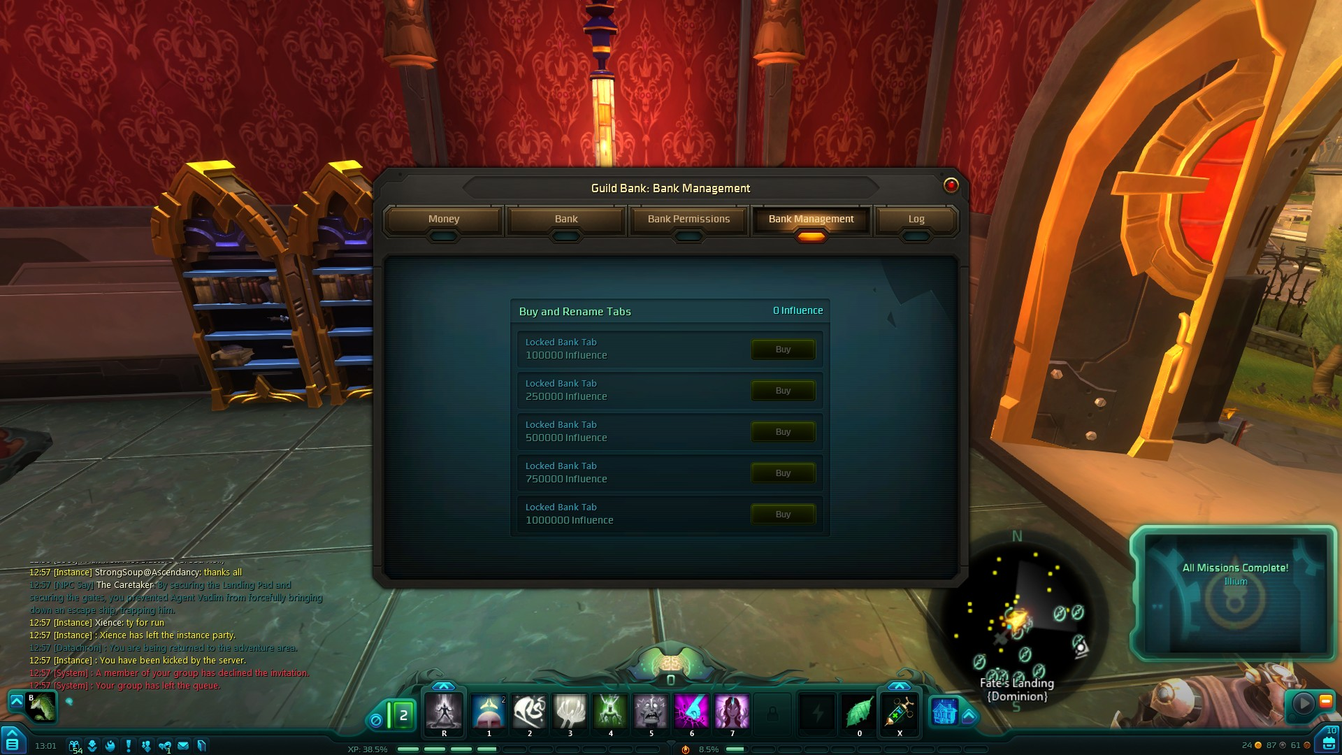 Guild Bank Tabs