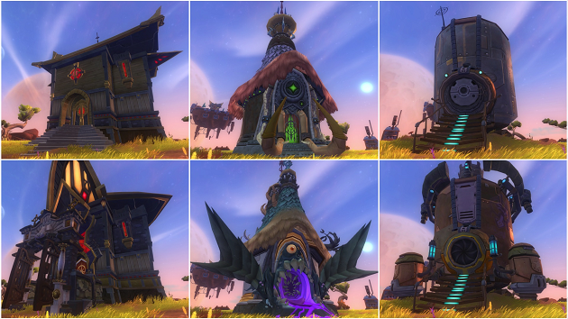 WildStar customization housing