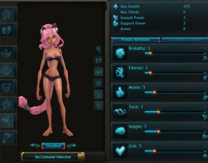wildstar attributes
