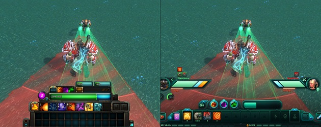 WildStar interface comparison