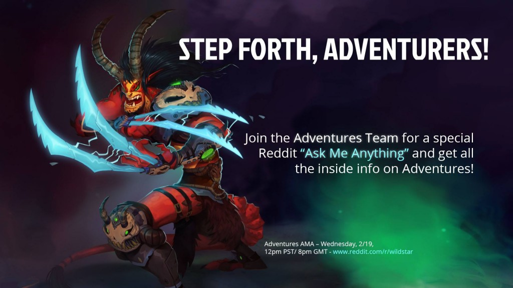 WildStar Adventures AMA on Reddit