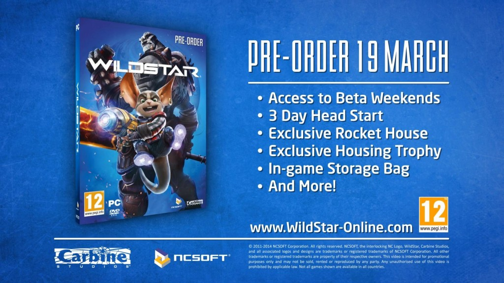 wildstar release date early access