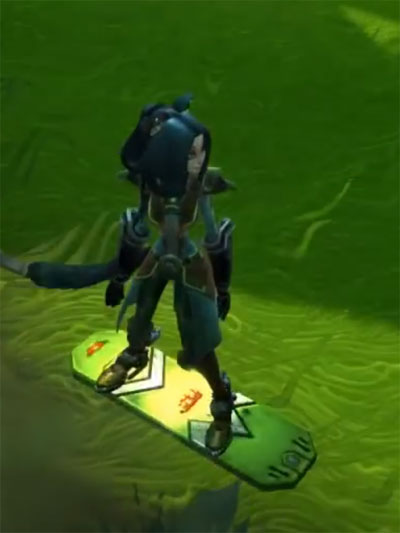 The Beast Hoverboard Mount