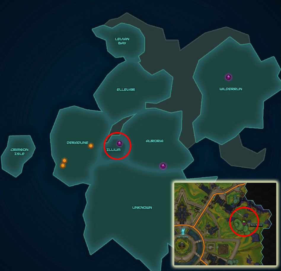 Riot in the Void Map Entrance