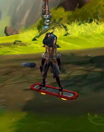 Spike Hoverboard Mount