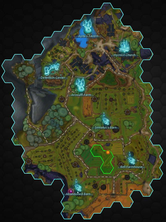 The Hycrest Insurrection Map