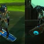 Vortex Hoverboard Mount