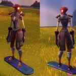 WildStar manta hoverboard