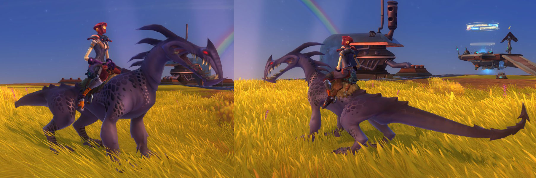 WildStar trask mount