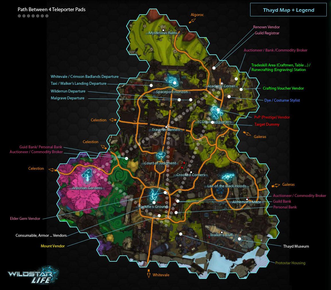 thayd map legend