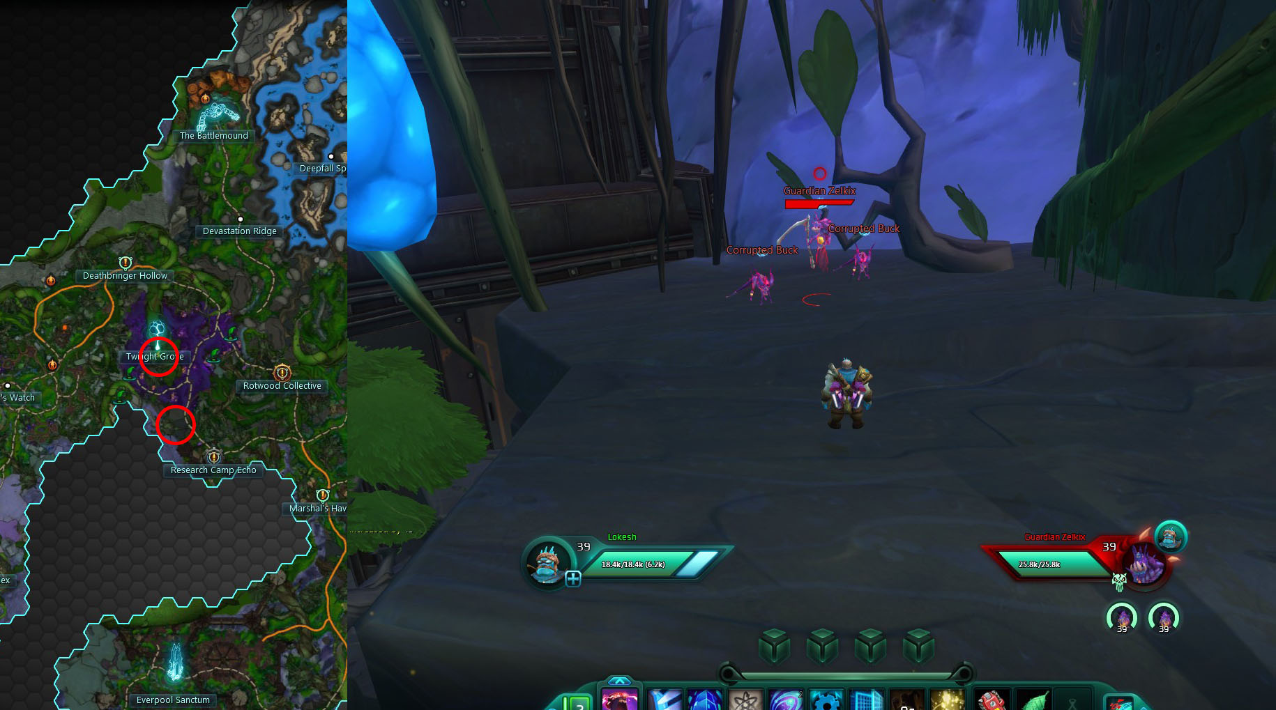 Guardian Zelkix Rare Mob Wilderrun