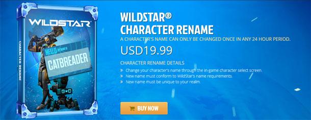 wildstar character rename