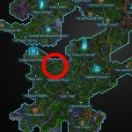 Tresayne's Swordmaiden Helm Map Location